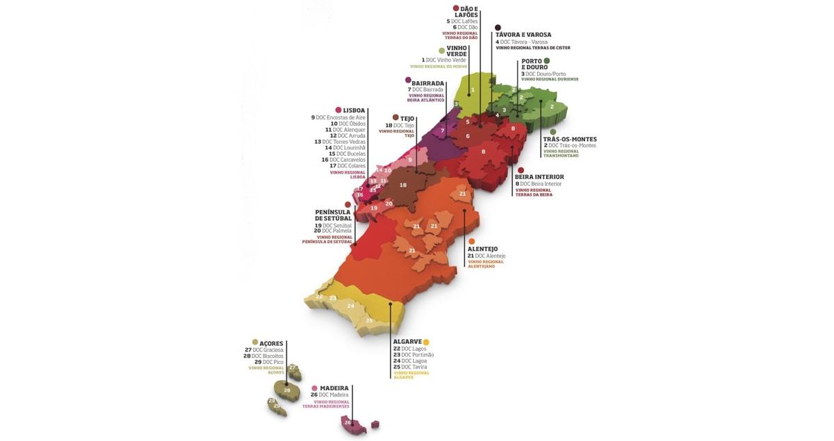 Introducción a los Vinos de Portugal