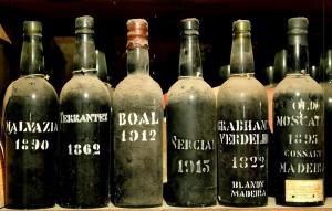 Botellas Madeira