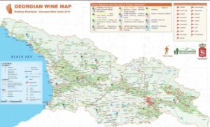 georgian wine map