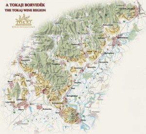 TOKAJ map